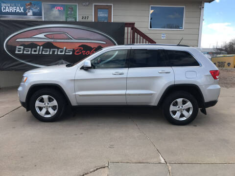 2012 Jeep Grand Cherokee for sale at Badlands Brokers in Rapid City SD