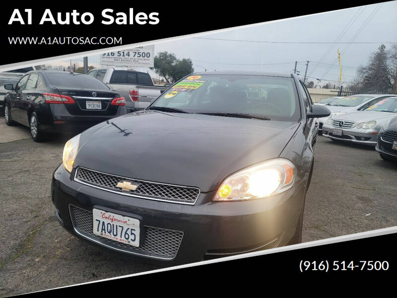 2014 Chevrolet Impala Limited for sale at A1 Auto Sales in Sacramento CA