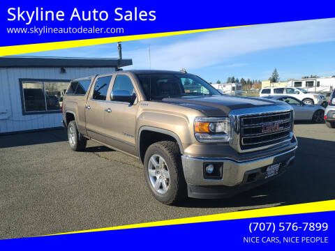 2015 GMC Sierra 1500 for sale at Skyline Auto Sales in Santa Rosa CA