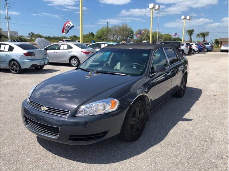2008 Chevrolet Impala for sale at My Value Car Sales in Venice FL