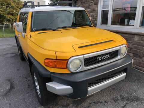 2007 Toyota FJ Cruiser for sale at Matt-N-Az Auto Sales in Allentown PA