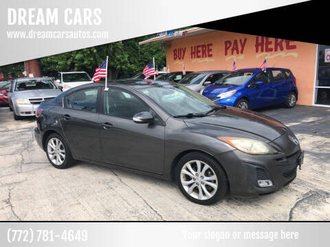 2010 Mazda MAZDA3 for sale at DREAM CARS in Stuart FL