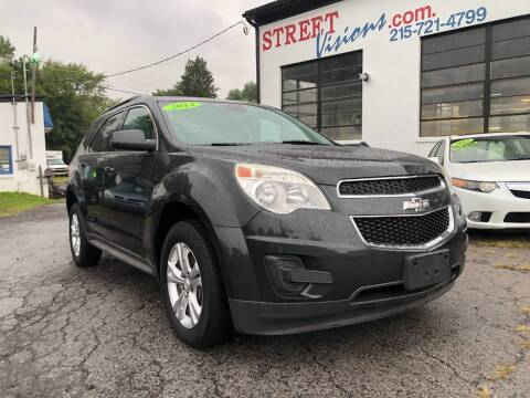 2014 Chevrolet Equinox for sale at Street Visions in Telford PA