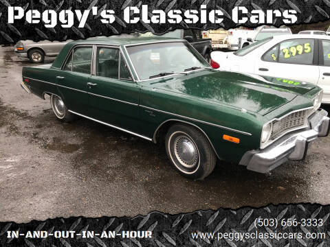 1974 Dodge Dart for sale at Peggy's Classic Cars in Oregon City OR