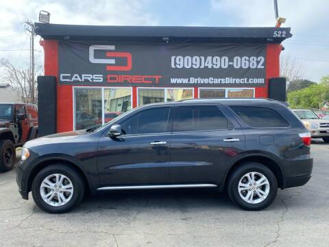 2013 Dodge Durango for sale at Cars Direct in Ontario CA