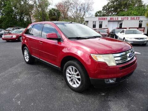 2007 Ford Edge for sale at DONNY MILLS AUTO SALES in Largo FL