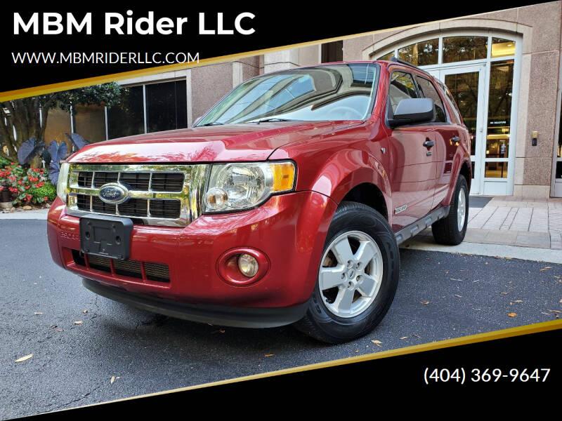 2008 Ford Escape for sale at MBM Rider LLC in Alpharetta GA