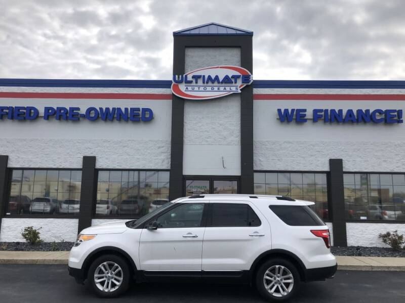 2012 Ford Explorer for sale at Ultimate Auto Deals in Fort Wayne IN
