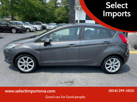 2015 Ford Fiesta for sale at Select Imports in Ashland VA
