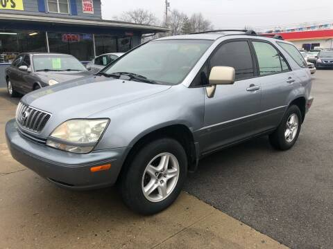 2003 Lexus RX 300 for sale at Wise Investments Auto Sales in Sellersburg IN