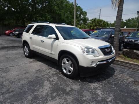 2008 GMC Acadia for sale at DONNY MILLS AUTO SALES in Largo FL