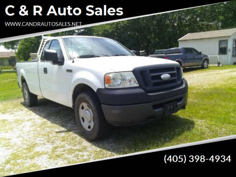 2008 Ford F-150 for sale at C & R Auto Sales in Bowlegs OK