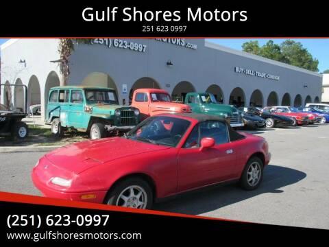 1995 Mazda MX-5 Miata for sale at Gulf Shores Motors in Gulf Shores AL