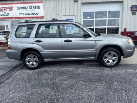 2007 Subaru Forester for sale at Keisers Automotive in Camp Hill PA
