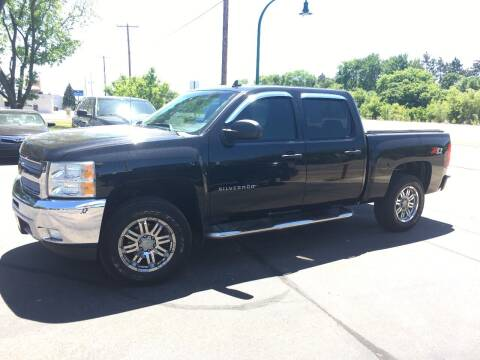2012 Chevrolet Silverado 1500 for sale at Premier Motors LLC in Crystal MN