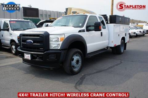 2013 Ford F-450 Super Duty for sale at STAPLETON MOTORS in Commerce City CO