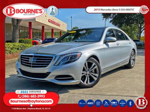 2015 Mercedes-Benz S-Class for sale at Bourne's Auto Center in Daytona Beach FL
