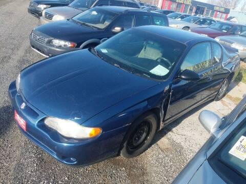 2003 Chevrolet Monte Carlo for sale at Kash Kars in Fort Wayne IN