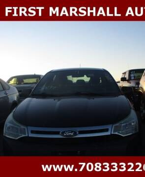2011 Ford Focus for sale at First Marshall Auto Auction in Harvey IL