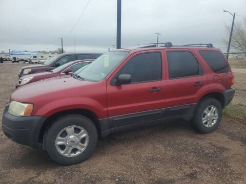 2004 Ford Escape for sale at PYRAMID MOTORS - Fountain Lot in Fountain CO