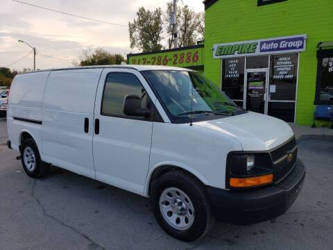 2012 Chevrolet Express Cargo for sale at Empire Auto Group in Indianapolis IN