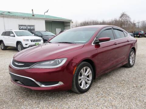 2016 Chrysler 200 for sale at Low Cost Cars in Circleville OH