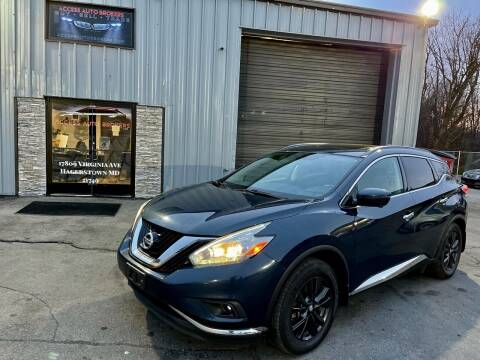 2017 Nissan Murano for sale at Access Auto Brokers of Maryland in Hagerstown MD