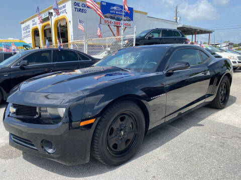 2013 Chevrolet Camaro for sale at INTERNATIONAL AUTO BROKERS INC in Hollywood FL