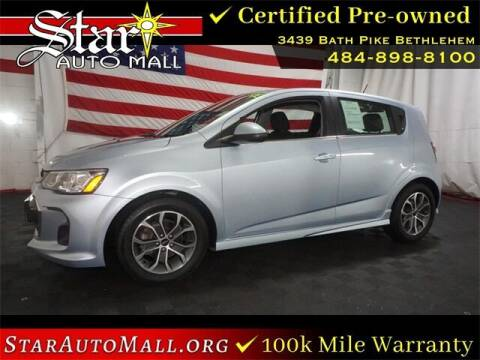 2018 Chevrolet Sonic for sale at STAR AUTO MALL 512 in Bethlehem PA