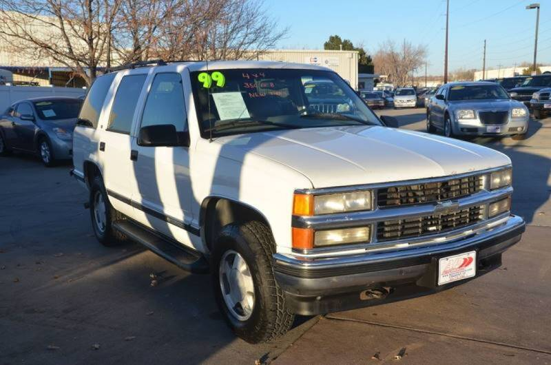 1999 Chevrolet Tahoe for sale at AP Auto Brokers in Longmont CO