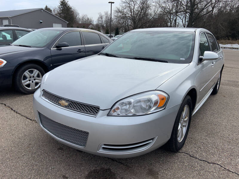 2012 Chevrolet Impala for sale at Blake Hollenbeck Auto Sales in Greenville MI