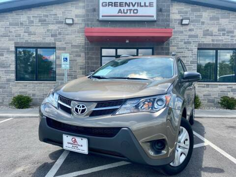 2014 Toyota RAV4 for sale at GREENVILLE AUTO in Greenville WI