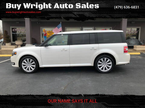 2014 Ford Flex for sale at Buy Wright Auto Sales in Rogers AR