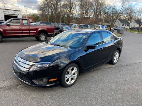 2012 Ford Fusion for sale at ENFIELD STREET AUTO SALES in Enfield CT