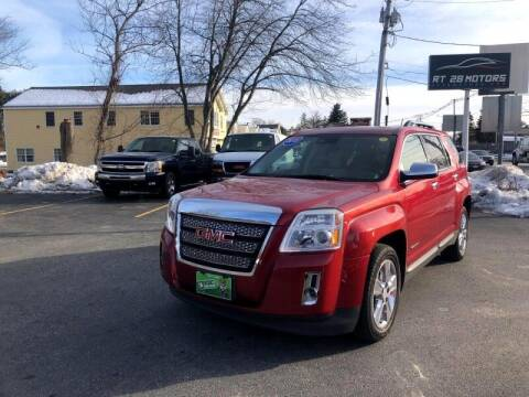 2015 GMC Terrain for sale at RT28 Motors in North Reading MA