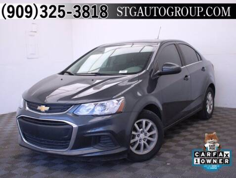 2019 Chevrolet Sonic for sale at STG Auto Group in Montclair CA
