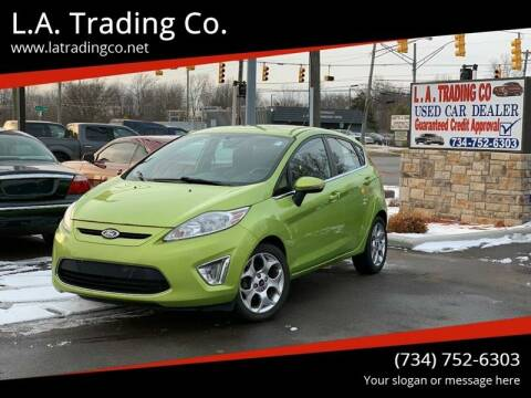 2011 Ford Fiesta for sale at L.A. Trading Co. Woodhaven in Woodhaven MI