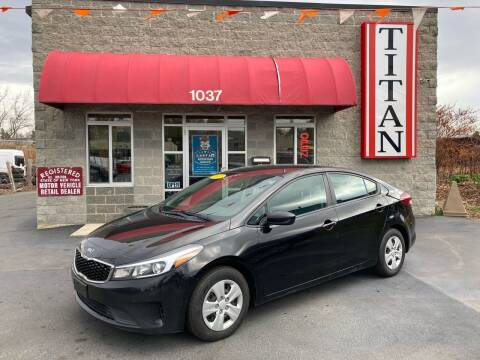 2017 Kia Forte for sale at Titan Auto Sales LLC in Albany NY