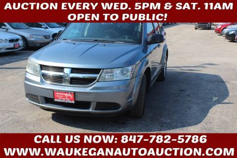 2010 Dodge Journey for sale at Waukegan Auto Auction in Waukegan IL