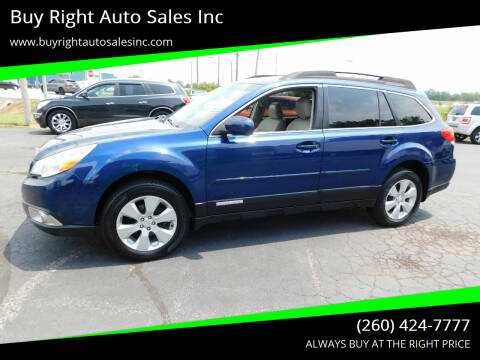 2011 Subaru Outback for sale at Buy Right Auto Sales Inc in Fort Wayne IN