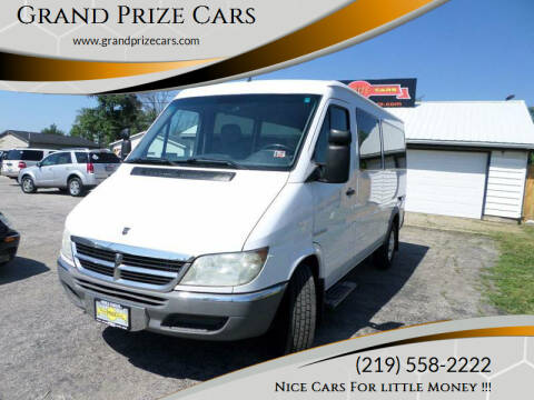 2005 Dodge Sprinter Passenger for sale at Grand Prize Cars in Cedar Lake IN