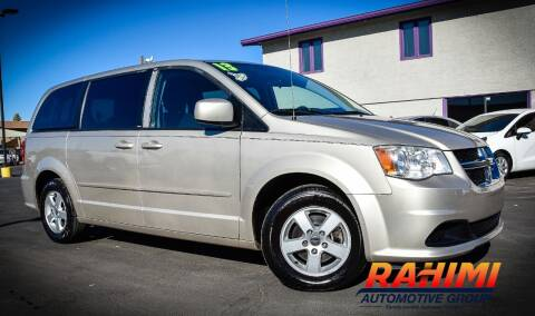 2013 Dodge Grand Caravan for sale at Rahimi Automotive Group in Yuma AZ