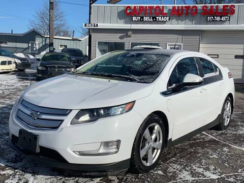2012 Chevrolet Volt for sale at Capitol Auto Sales in Lansing MI