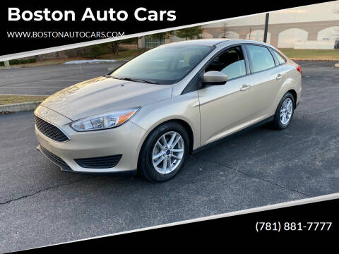 2018 Ford Focus for sale at Boston Auto Cars in Dedham MA
