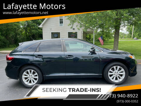 2013 Toyota Venza for sale at Lafayette Motors 2 in Andover NJ