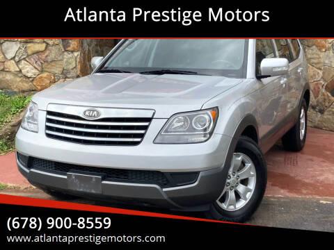 2009 Kia Borrego for sale at Atlanta Prestige Motors in Decatur GA
