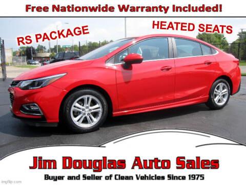 2017 Chevrolet Cruze for sale at Jim Douglas Auto Sales in Pontiac MI