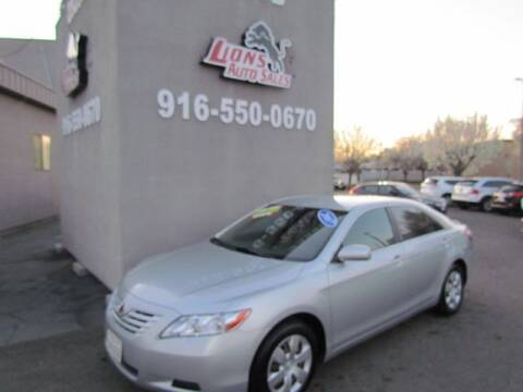 2007 Toyota Camry for sale at LIONS AUTO SALES in Sacramento CA