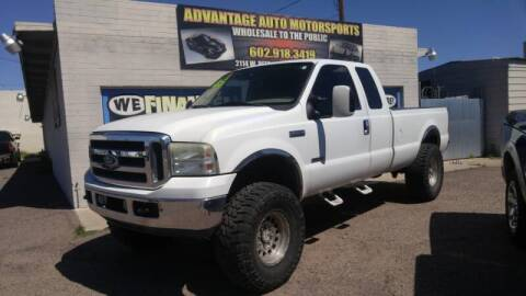 2005 Ford F-250 Super Duty for sale at Advantage Motorsports Plus in Phoenix AZ
