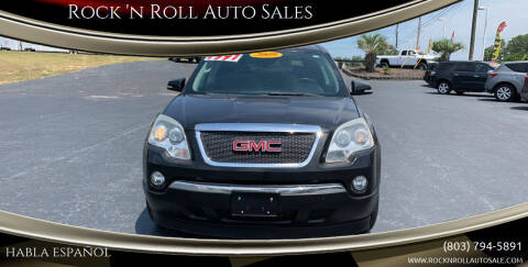 2009 GMC Acadia for sale at Rock 'n Roll Auto Sales in West Columbia SC